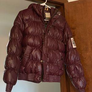 HH Helly Hansen purple winter goose down jacket